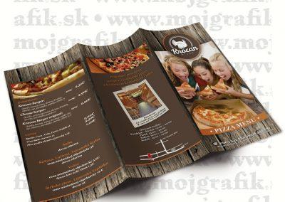 portfolio Letak pizza